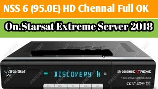 All HD Chennal Working NSS 6(95 0E) On StarSat Extreme 2000