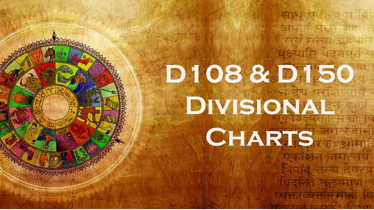 D108 & 150 Divisional Chart Introduction - California Vyasa SJC Class  06 11 2006