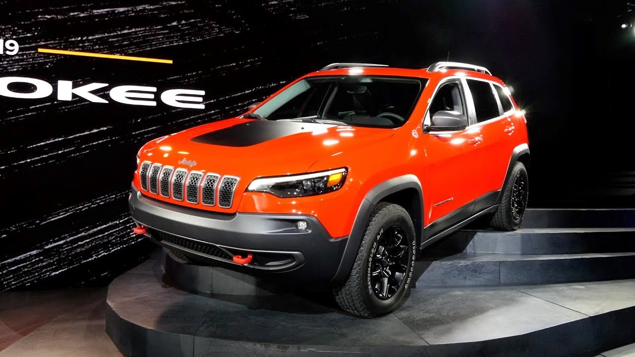 2019 jeep cherokee 2018 detroit auto show youtube. Black Bedroom Furniture Sets. Home Design Ideas