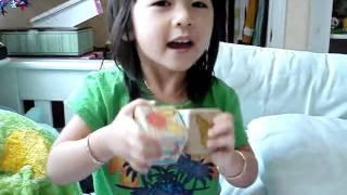 Baby making a rainbow Thumbnail