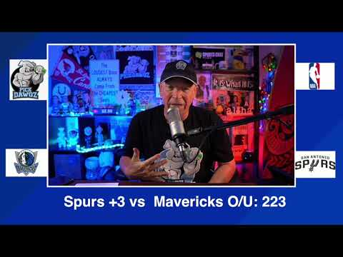 San Antonio Spurs vs Dallas Mavericks 1/22/21 Free NBA Pick and Prediction NBA Betting Tips