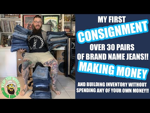 How to get FREE Inventory for your Ebay Business by doing Consignment. My First Shipment Unboxing!
