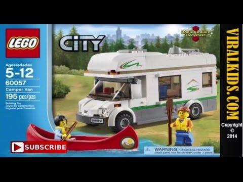 LEGO City - Camper Van 60057 - Review - YouTube
