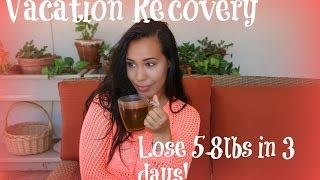 Vacation Recovery: How to lose 5-8lbs in 3 days
