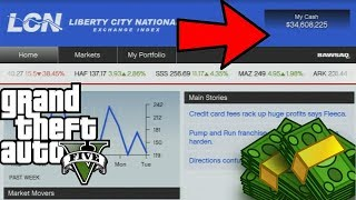 GTA 5 STOCK MARKET  GLITCH OFFLINE- MAKE MILLIONS IN MINUTES