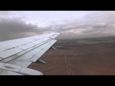 Southwest Airlines Boeing 737-500 Takeoff Lubbock, TX to Dallas, TX RWY 8