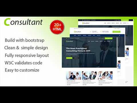 Consultant – Consultant & Finance Template | Themeforest Website Templates and Themes