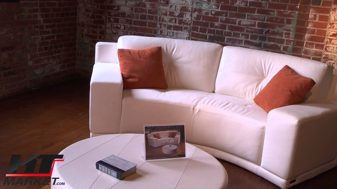 Jaymar Expo Curved Sofa Sectional For Media Rooms YouTube - Media room sofa