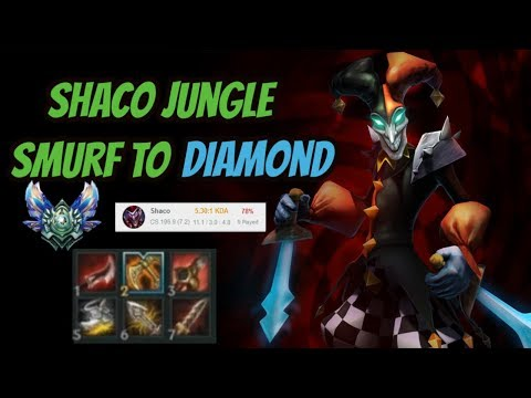Shaco carrying Platin [League of Legends] Smurf to Diamond - Infernal Shaco thumbnail