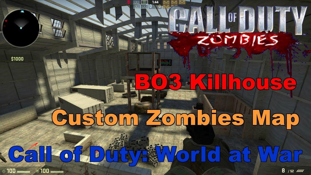 Black ops 3 killhouse map custom zombies call of duty world at black ops 3 killhouse map custom zombies call of duty world at war gumiabroncs Choice Image