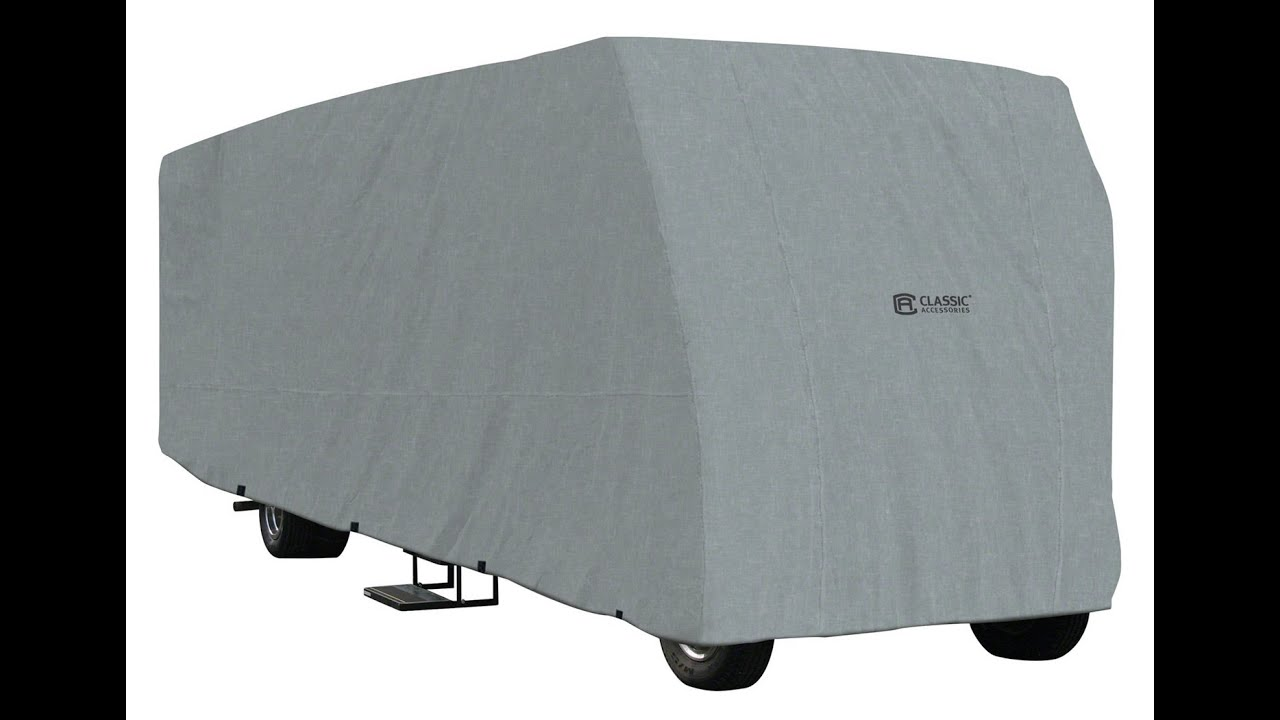 Goldline Cover Grey 293 x 102 x 104 Travel Trailer Cover for 22-24 Trailers