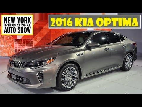 2016 Kia Optima, Live At 2015 New York Auto Show   YouTube