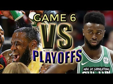 Cleveland Cavaliers vs Boston Celtics - FULL GAME | Game 7 | May 27 | FINALS CONFERENCE | NBA 2K18