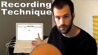 Recording Acoustic Guitar Microphone Techniques Dustin Prinz Music Lesson Tutorial