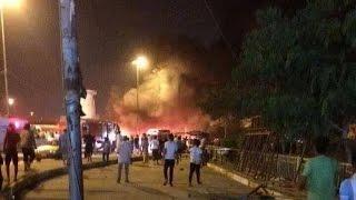 انفجار سيارة بمنطقة الكرادة وسط بغداد
