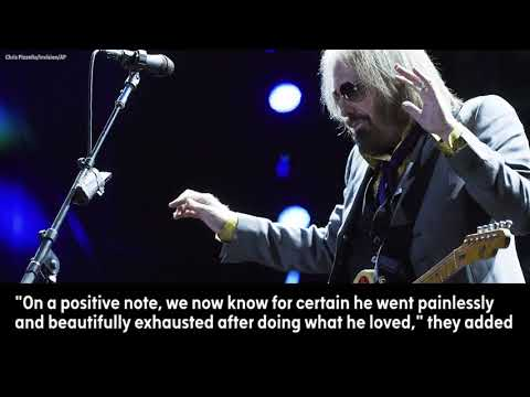 Coroner: Rock legend Tom Petty tom petty