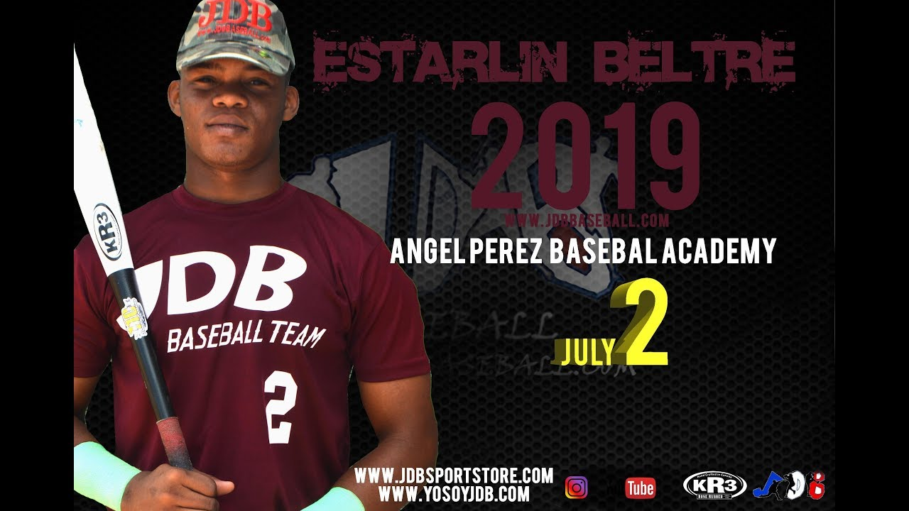 Estarlin Beltre OF 2019 Class from (Angel Perez Baseball Academy) Date video 18.04.2018