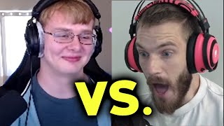 ME vs. PEWDIEPIE in Minecraft...