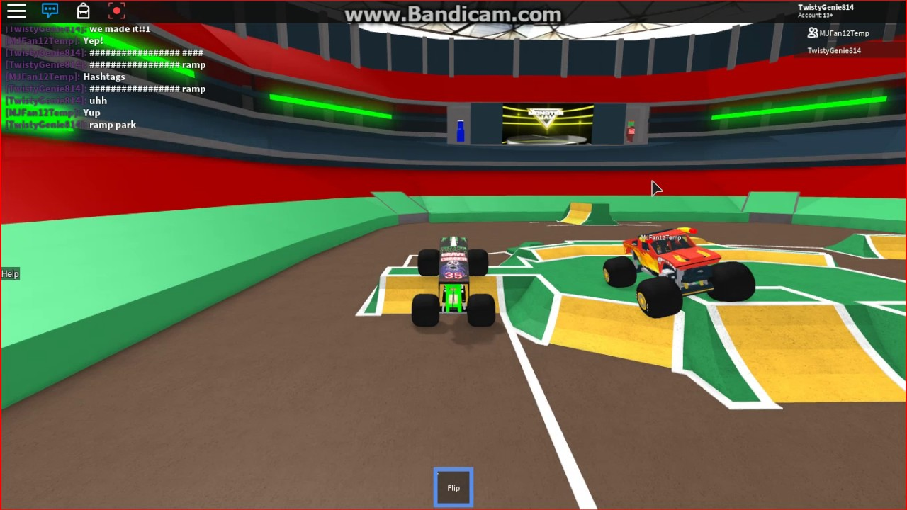 Roblox Monster Jam Freestyle With 2 Men Part 2 - roblox monster jam freestyle pt 2 youtube