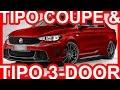 PHOTOSHOP Fiat Tipo Coupé Abarth & Tipo 3 portas Abarth 2018 #Fiat