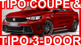 Photoshop fiat tipo coupé abarth & tipo 3 portas abarth 2018 #fiat