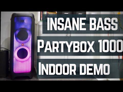JBL PartyBox 1000 REVIEW & Sound Demo (Indoor)
