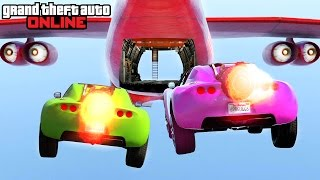 GTA 5: Online - Stunts, Fails & Funny Moments feat. New DLC Vehicles