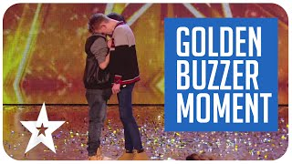 Simon Cowell chooses his golden buzzer winning performance on Britain\'s Got Talent