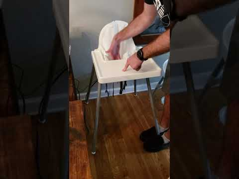 Ikea highchair tray removal - reason explained