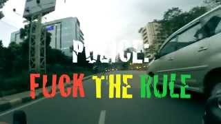 Fixed Gear- cycling in Rush hour & undisciplined police (Fixietas Jakarta)