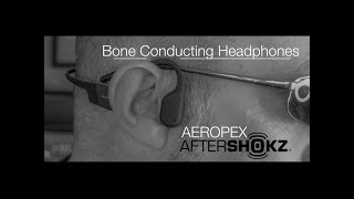 The Best in Bone Conduction Headphones | AEROPEX by AFTERSHOKZ