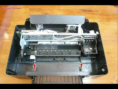 How to disassembly Epson TX121