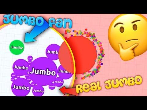 Agar.io - AWESOME BATTLE ROYALE WIN WITH JUMBO FAN - NEW Agario GAMEMODE