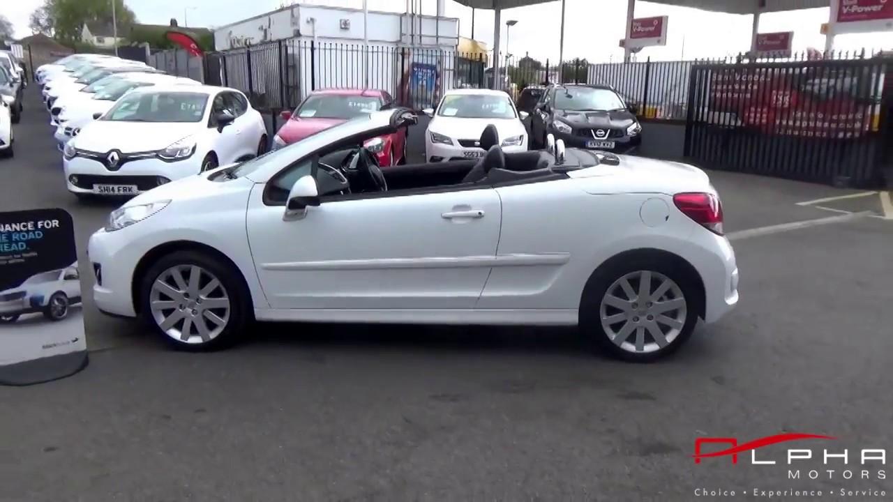 2011 peugeot 207 cc white youtube rh youtube com Peugeot 308 CC New Peugeot 207 CC