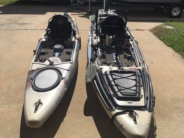 Jackson Big Rig & Cruise 12 Angler Kayaks