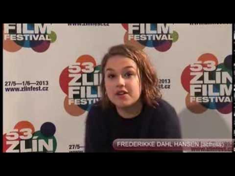 FREDERIKKE DAHL HANSEN  Zlín Film Festival 2013