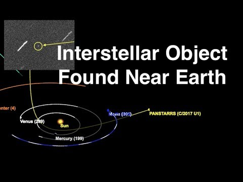 First Object From Another Star System Found Near Earth