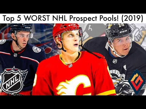 Top 5 WORST NHL Prospect Pools! (Hockey Prospect Rankings   Talk 2019) 0317adb05