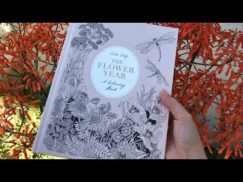 flip-through:-the-flower-year-coloring-book-by-leila-duly