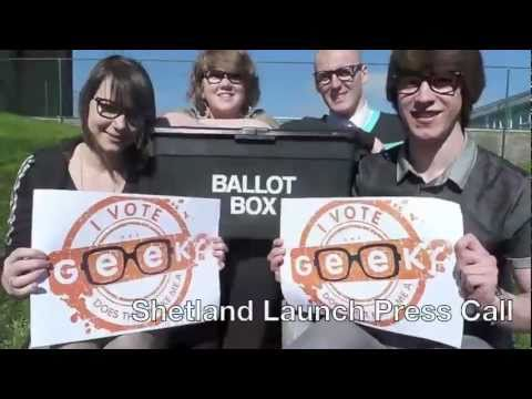 Scottish Youth Parliament Shetland Geek Campaign
