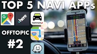 DIE BESTEN NAVI-APPS FÜR iOS & ANDROID - Mit TomTom Go Mobile, Waze, Here, Google Maps & Apple Maps