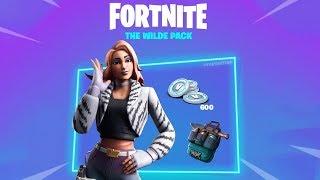 Fortnite New Wilde Skin Starter Pack Gameplay How To Get Wilde Skin