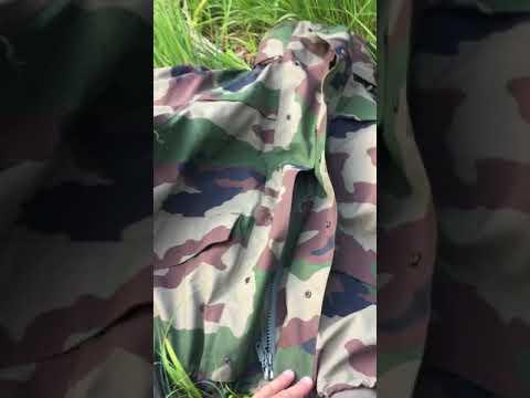 CCE Camo Französische Nässeschutzjacke French Army Waterproof Jacket