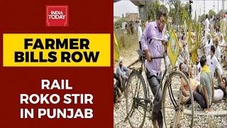Bharat Bandh: Nationwide Farmers' Strike Against Farm Bills Today; Rail, Road Transport Affected