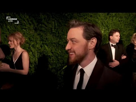 James McAvoy - Evening Standard Theatre Awards 2014