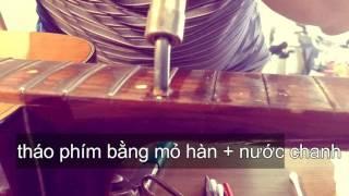 Nhà Kho - Cách thay phím guitar