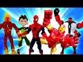Видео для мальчиков. Сборник видео с Супергероями и Доктором Ой. Клиника игрушек и игры в больничку