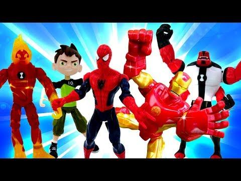 Видео для мальчиков. Сборник с Доктором Ой и Супергероями.