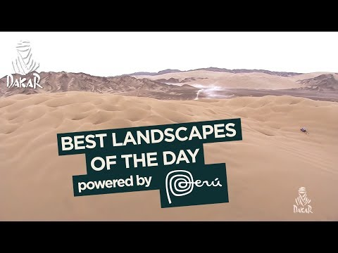 Landscape of the day - Stage 2 (Pisco / Pisco) - Dakar 2018