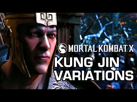 Kung Jin Variations Official Breakdown - Mortal Kombat X